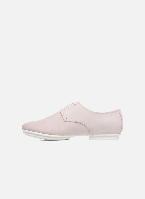 Chaussures à lacets Camper Tabi 22584 Rose vue face