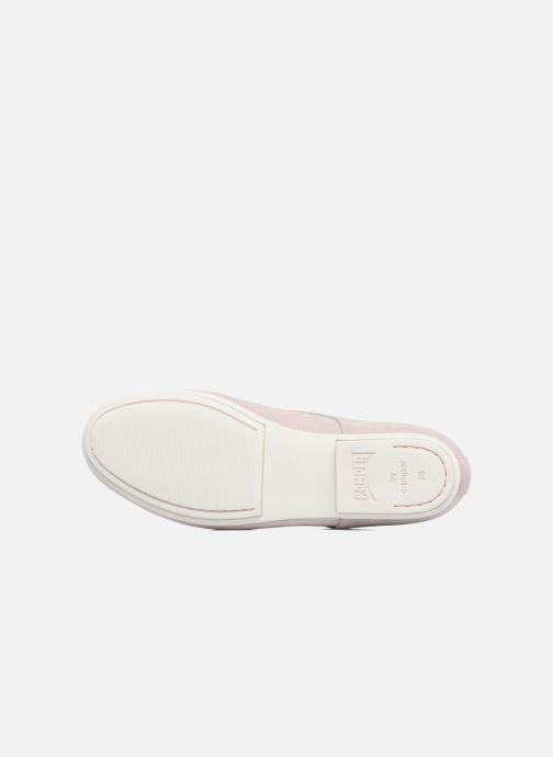 Chaussures à lacets Camper Tabi 22584 Rose vue haut