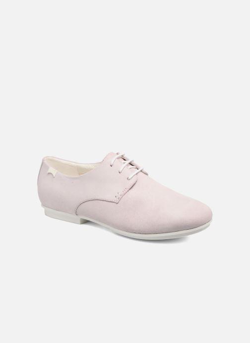 Chaussures à lacets Camper Tabi 22584 Rose vue détail/paire