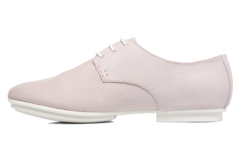 Zapatos con cordones Camper Tabi 22584 Rosa vista de frente