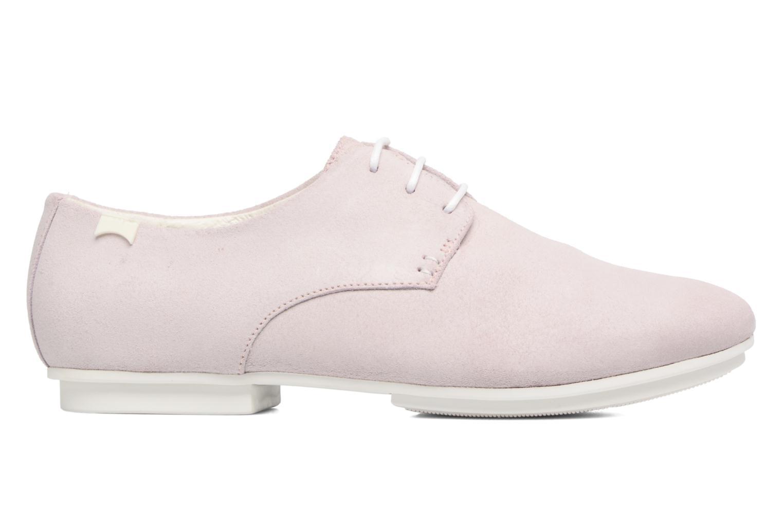 Zapatos con cordones Camper Tabi 22584 Rosa vistra trasera