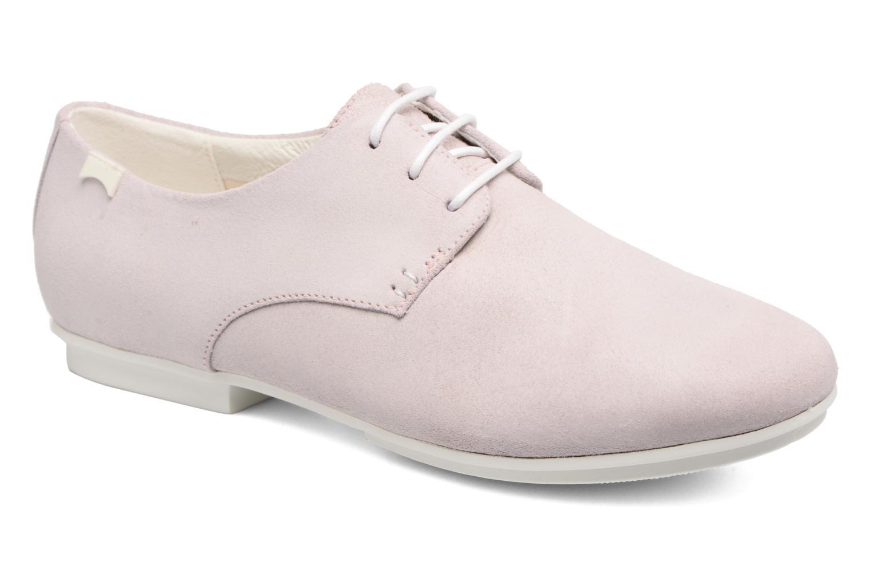 Zapatos con cordones Camper Tabi 22584 Rosa vista de detalle / par