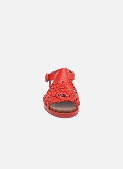 Sandales et nu-pieds Camper Together 21903 Rouge vue portées chaussures