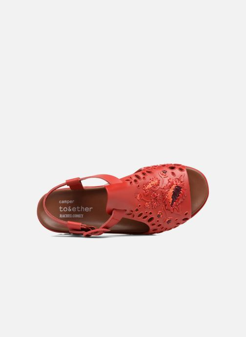 Sandalias Camper Together 21903 Rojo vista lateral izquierda