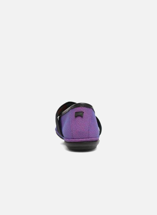 Ballerines Camper TWS K200144 Violet vue droite
