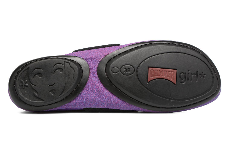 Ballerines Camper TWS K200144 Violet vue haut