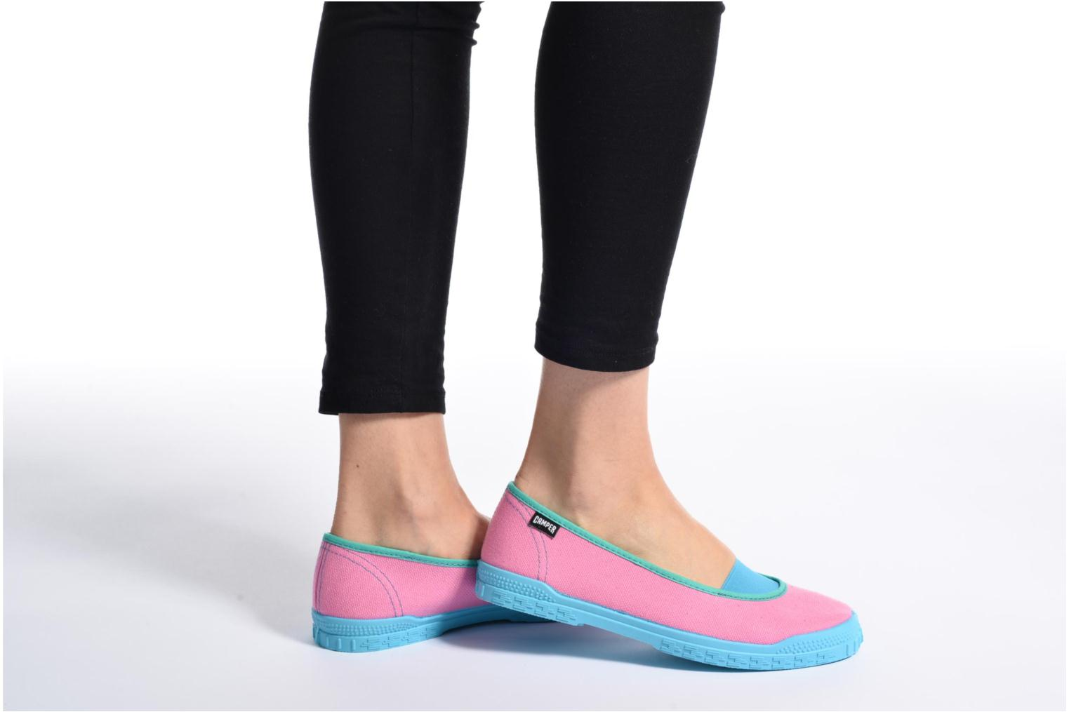 Ballet pumps Camper TWS K200076 Pink view from underneath / model view