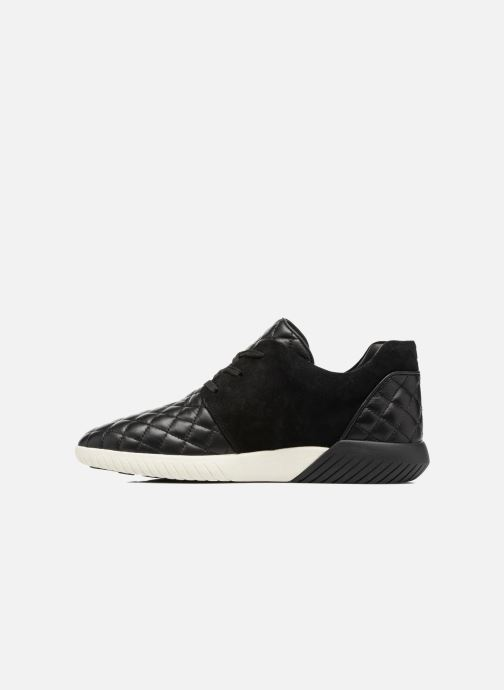 Sneaker What For Clay schwarz ansicht von vorne