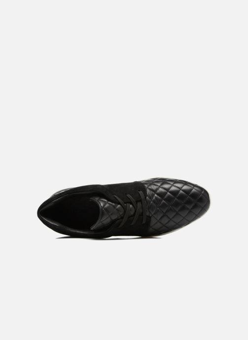 Sneaker What For Clay schwarz ansicht von links