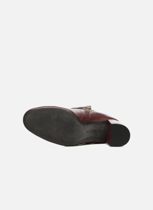Bottines et boots What For Thomas Bordeaux vue haut