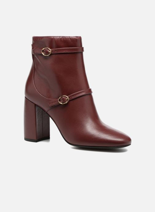 Ankle boots What For Thomas Burgundy detailed view/ Pair view