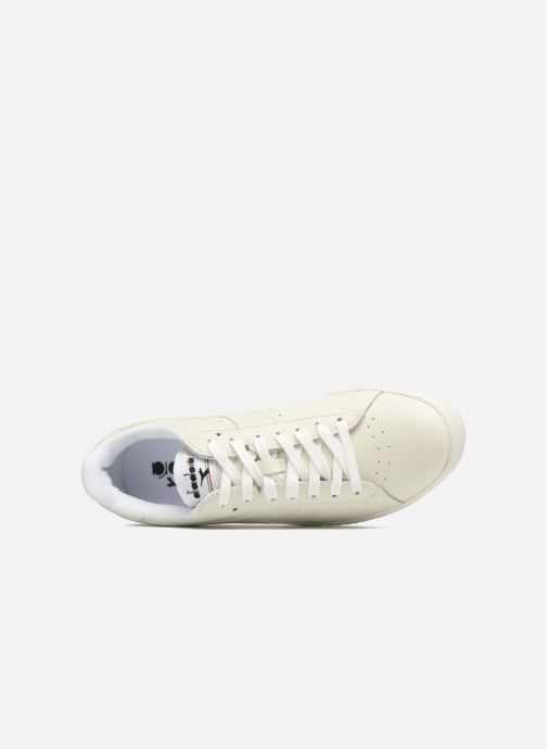 Baskets Diadora GAME L LOW Blanc vue gauche