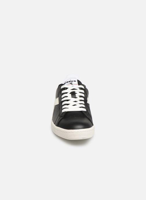 Baskets Diadora GAME L LOW Noir vue portées chaussures