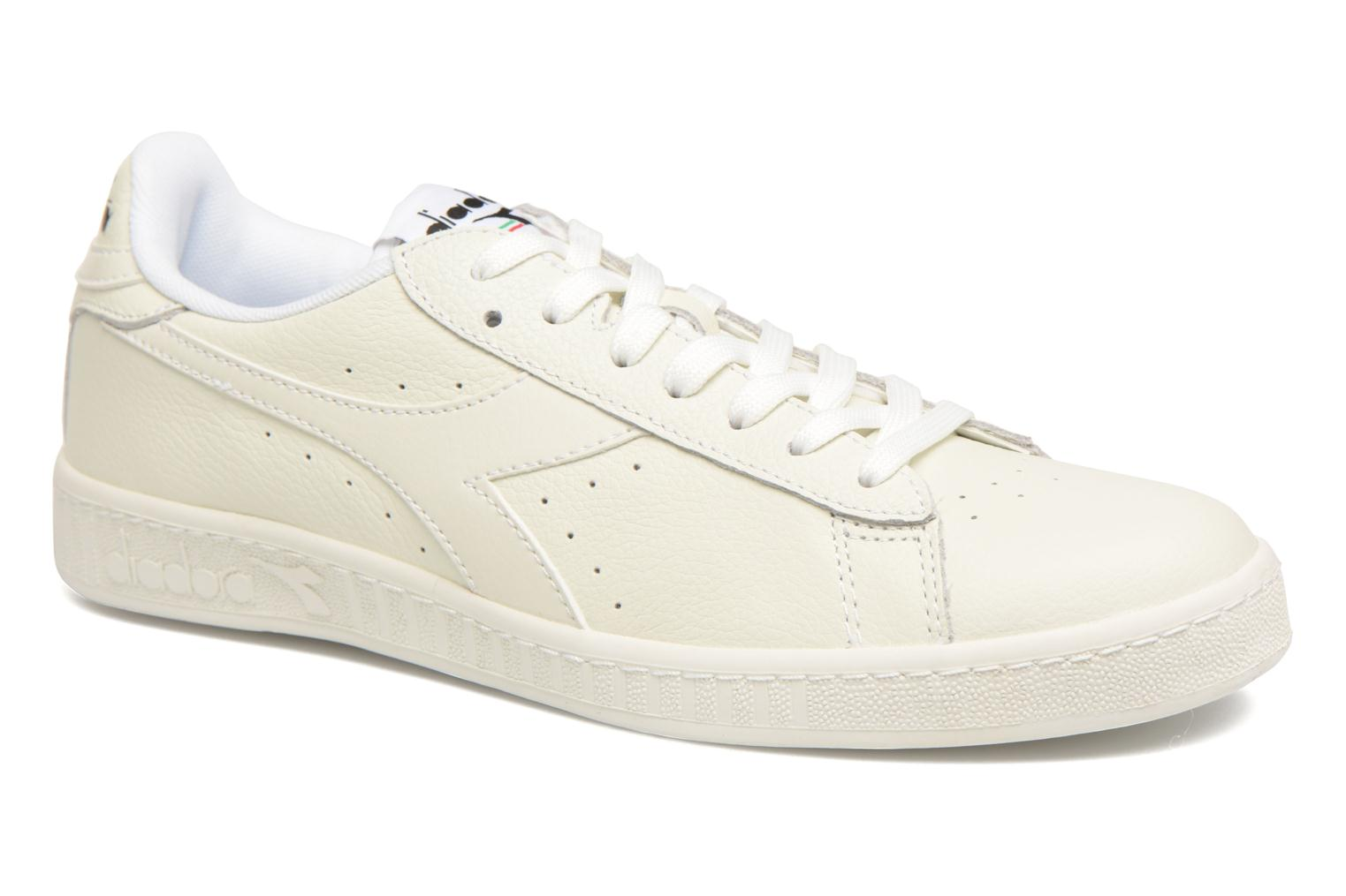 Trainers Diadora GAME L LOW White detailed view/ Pair view
