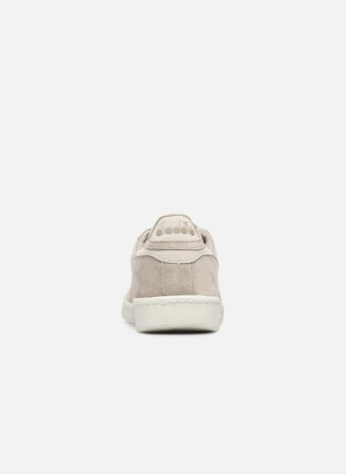Baskets Diadora GAME LOW S Gris vue droite