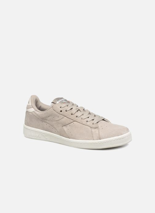 Baskets Diadora GAME LOW S Gris vue détail/paire