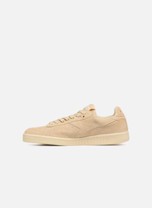 Sneakers Diadora GAME LOW S Beige voorkant
