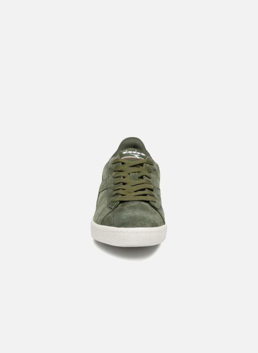 Baskets Diadora GAME LOW S Vert vue portées chaussures
