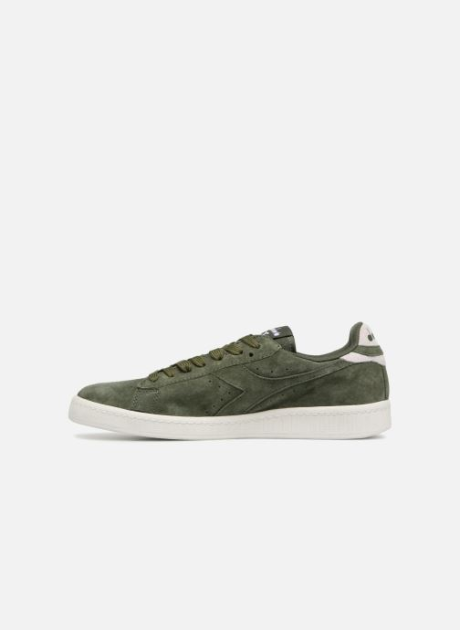 Trainers Diadora GAME LOW S Green front view