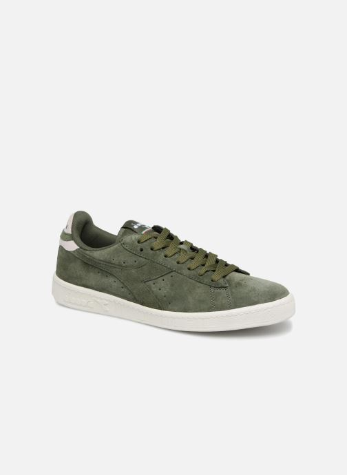 Trainers Diadora GAME LOW S Green detailed view/ Pair view