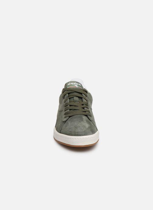 Sneaker Diadora GAME LOW S grün schuhe getragen