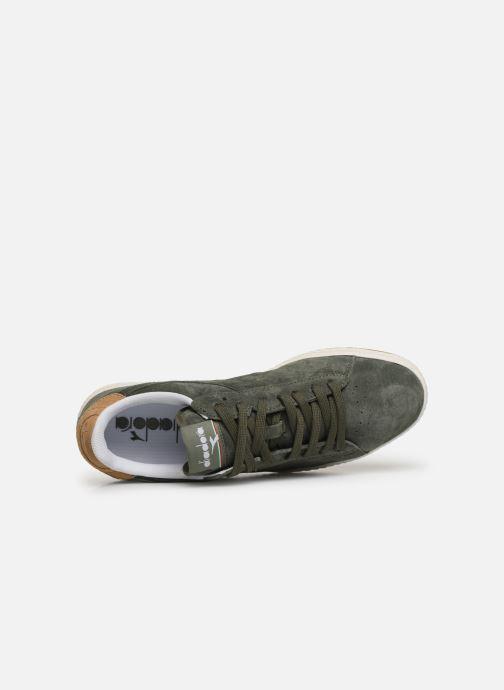 Sneaker Diadora GAME LOW S grün ansicht von links
