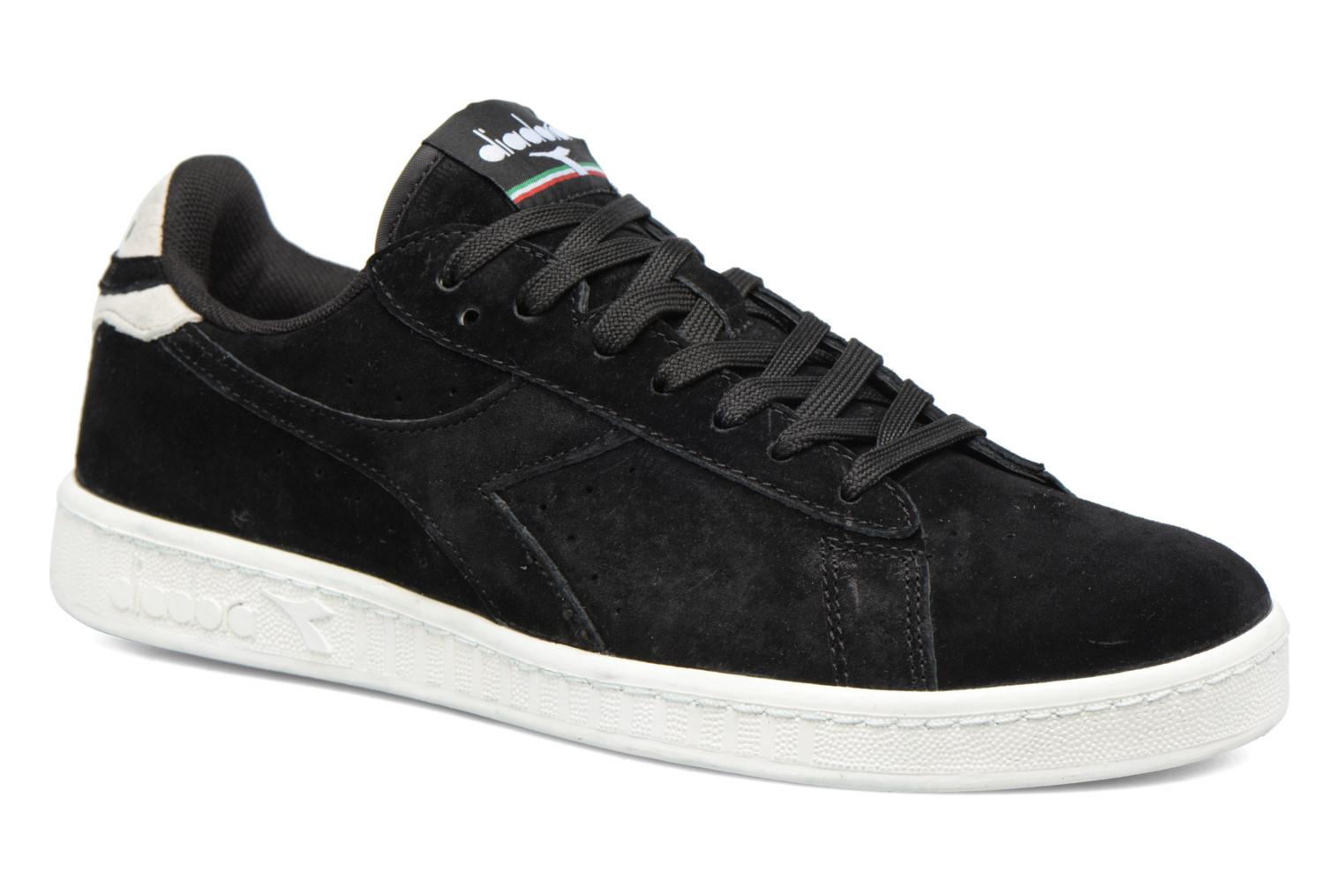 Trainers Diadora GAME LOW S Black detailed view/ Pair view