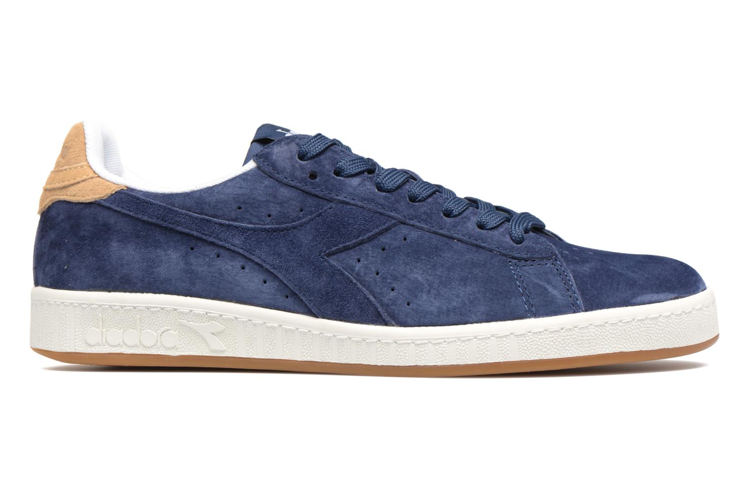 Trainers Diadora GAME LOW S Blue back view