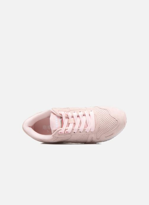 Trainers Diadora TITAN W PREMIER Pink view from the left