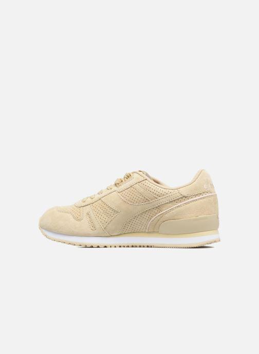 Sneakers Diadora TITAN W PREMIER Beige voorkant