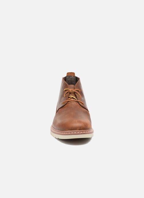 Zapatos con cordones Reef Reef Voyage Boot Marrón vista del modelo