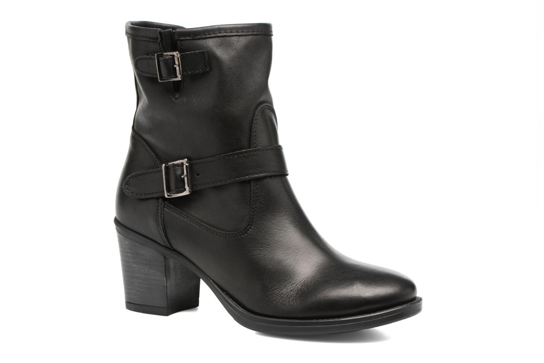 Ankelstøvler Georgia Rose Malicia Sort detaljeret billede af skoene