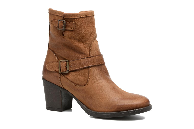 Ankelstøvler Georgia Rose Malicia Brun detaljeret billede af skoene