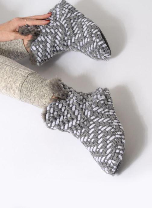 Chaussons Esprit Gris Bootie Chaussons Esprit Bootie Knitty Gris Knitty Esprit Yb7gyf6