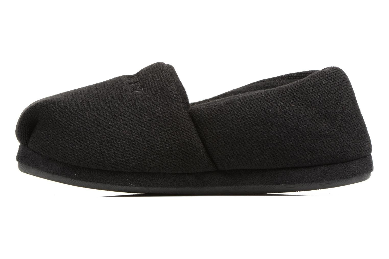 Pantofole Esprit STELLA BALLERINA Nero immagine frontale