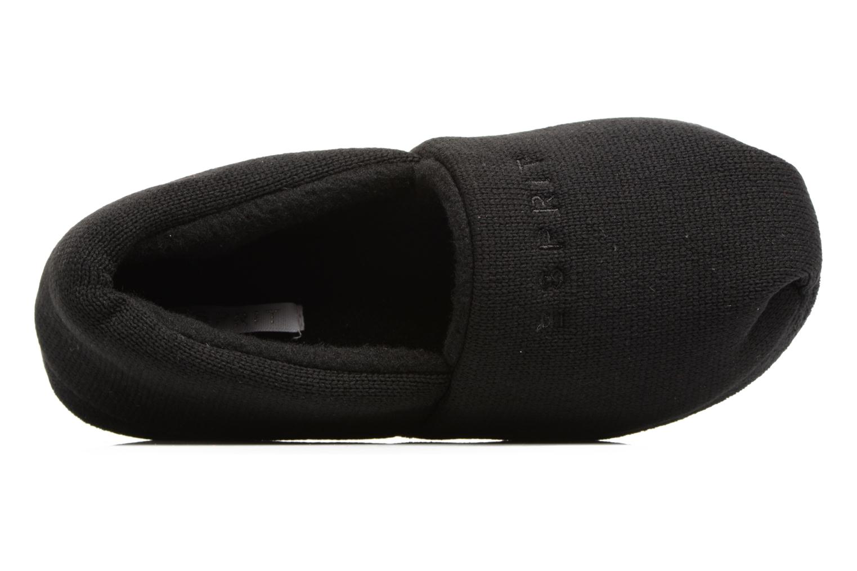 Pantofole Esprit STELLA BALLERINA Nero immagine sinistra