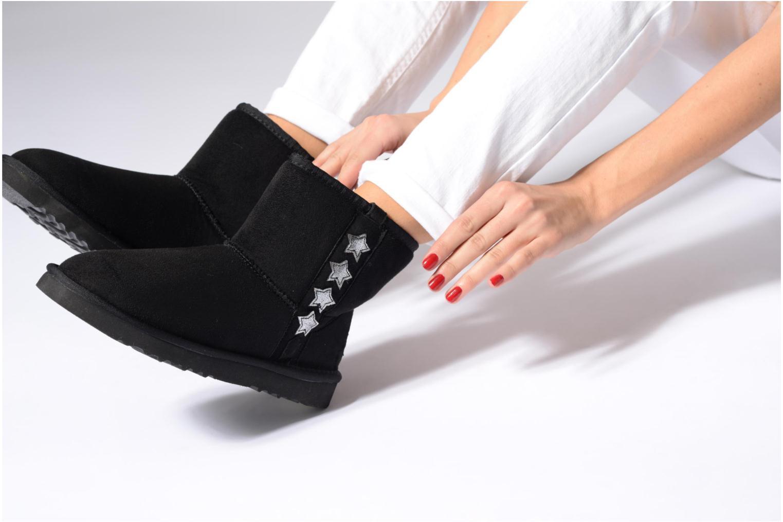 Stiefeletten & Boots Esprit UMA STAR BOOTIE schwarz ansicht von unten / tasche getragen