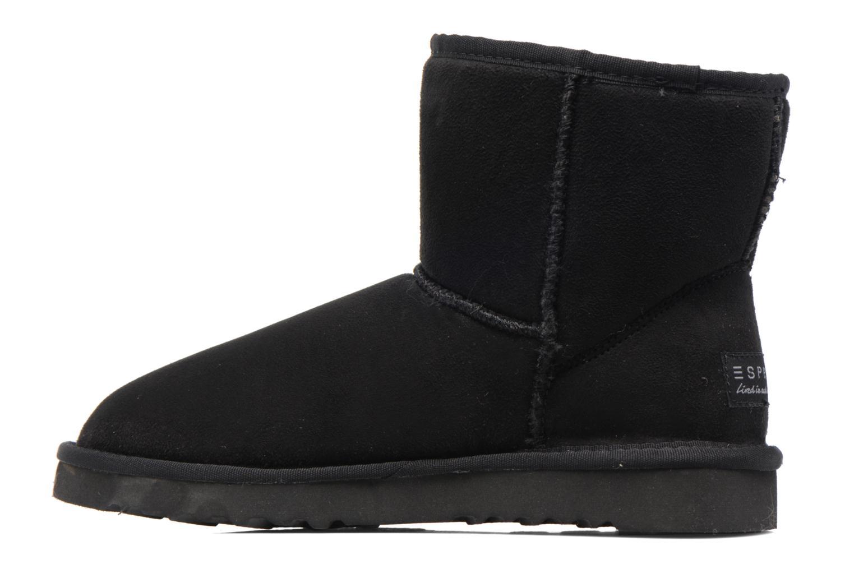 Stiefeletten & Boots Esprit UMA STAR BOOTIE schwarz ansicht von vorne