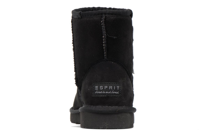 Stiefeletten & Boots Esprit UMA STAR BOOTIE schwarz ansicht von rechts