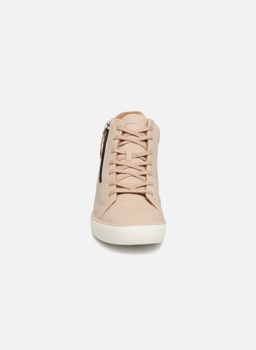 Trainers Esprit STAR WEDGE Beige model view