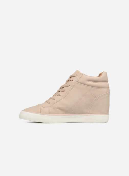 Trainers Esprit STAR WEDGE Beige front view