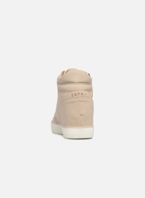 Trainers Esprit STAR WEDGE Beige view from the right