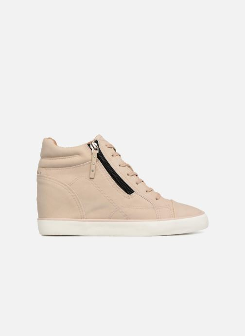 Trainers Esprit STAR WEDGE Beige back view