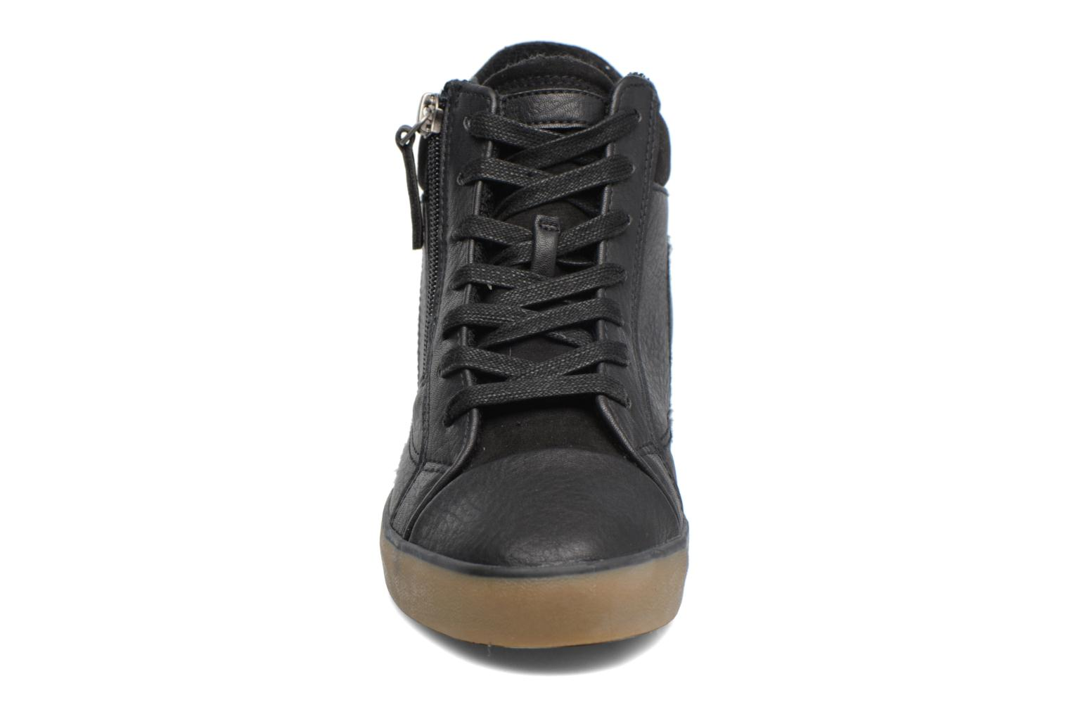 Trainers Esprit STAR WEDGE Black model view