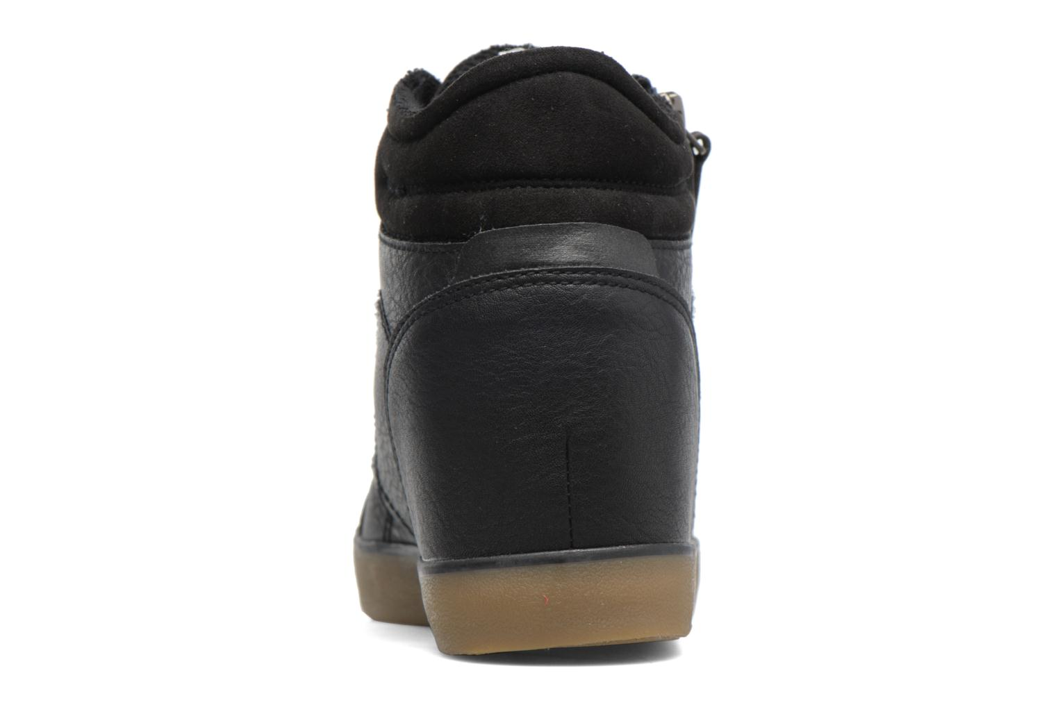 Trainers Esprit STAR WEDGE Black view from the right