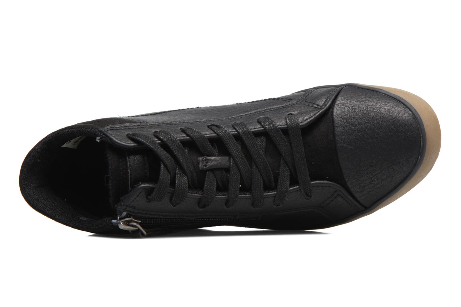 Trainers Esprit STAR WEDGE Black view from the left