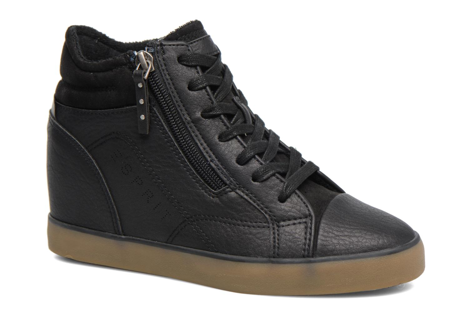 Trainers Esprit STAR WEDGE Black detailed view/ Pair view