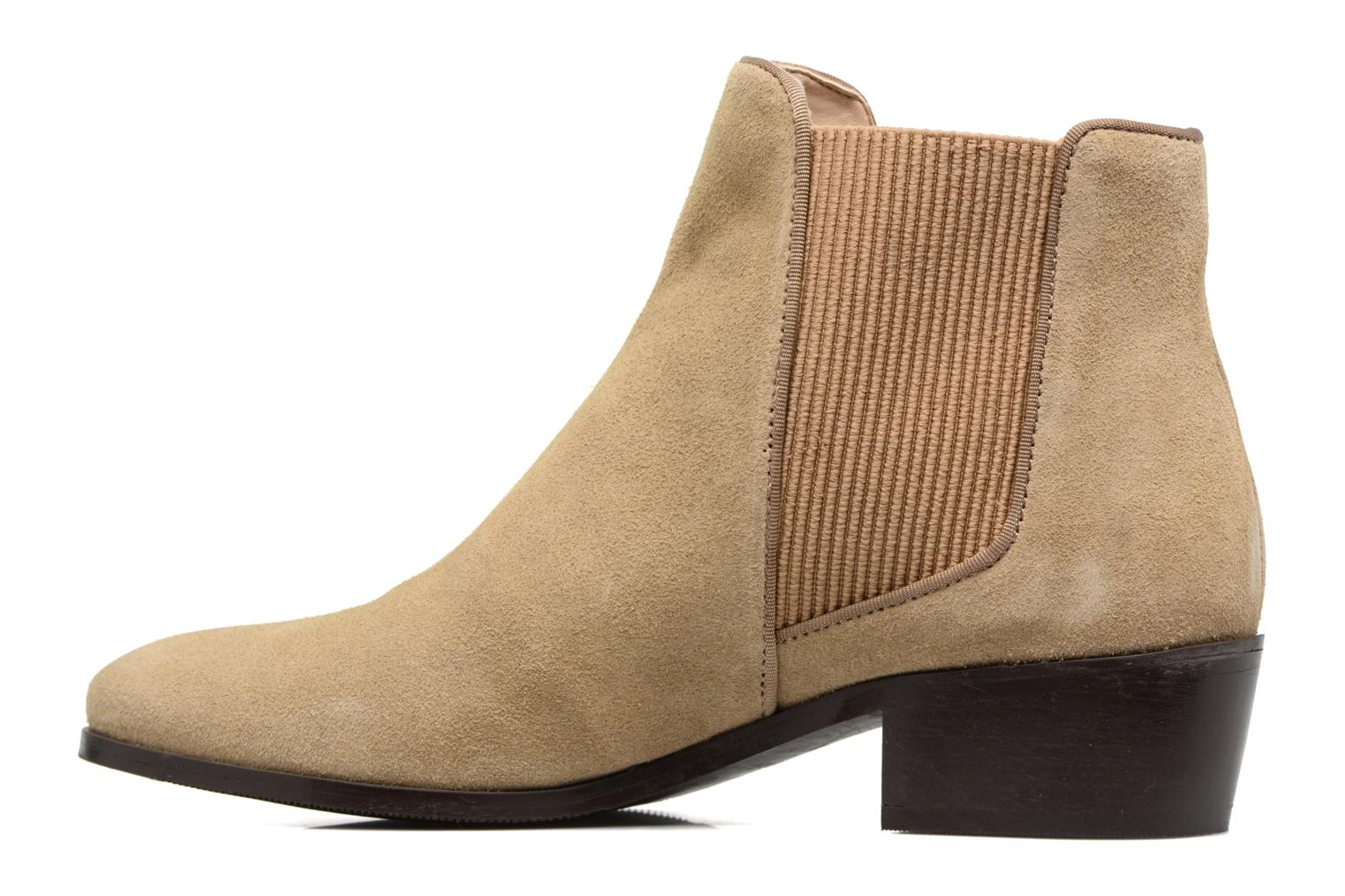 Bottines et boots Esprit YUE BOOTIE Marron vue face