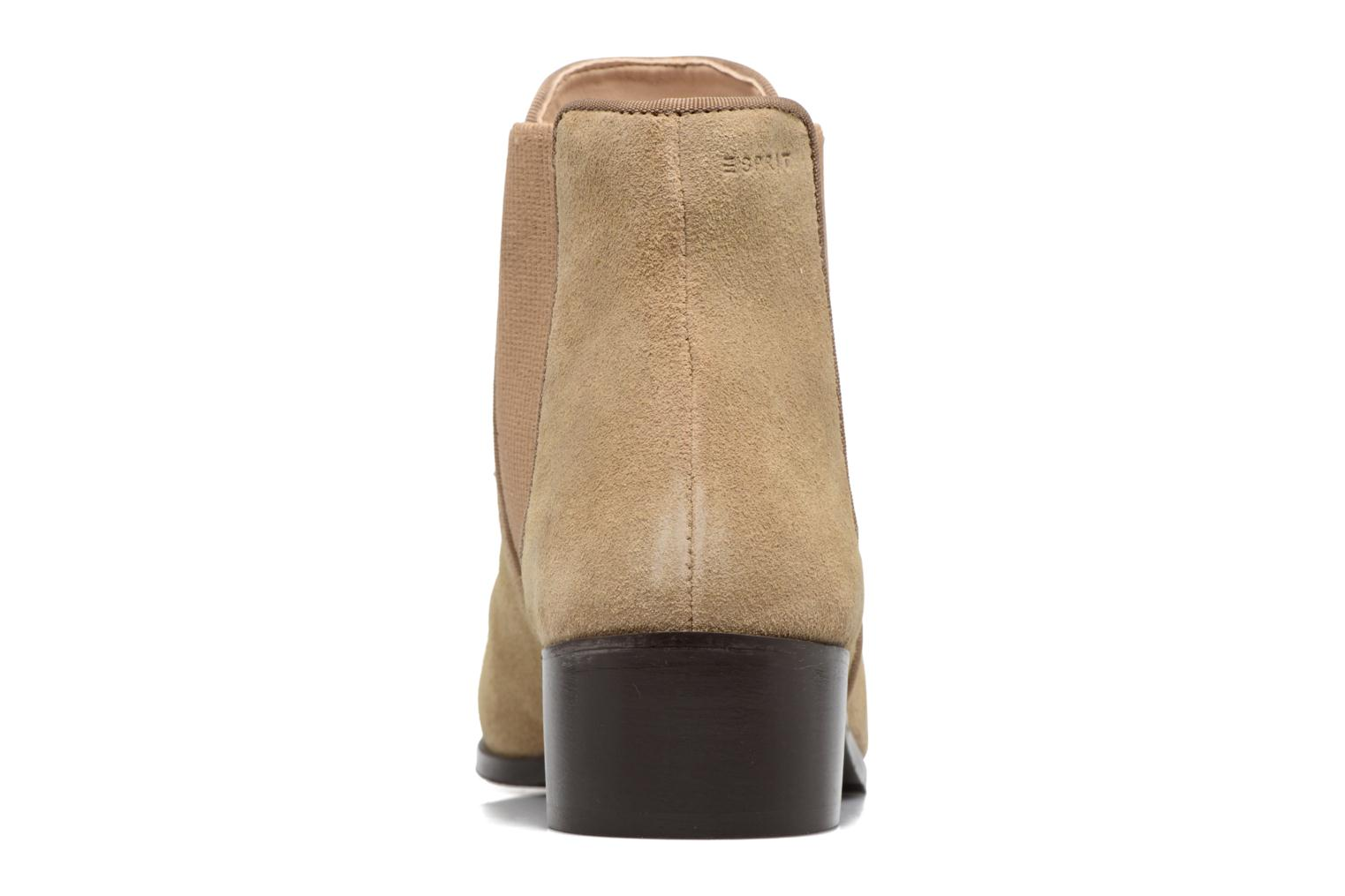 Ankle boots Esprit YUE BOOTIE Brown view from the right