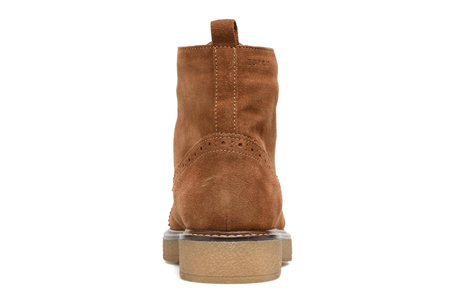Ankle boots Esprit JONE LOU Brown view from the right